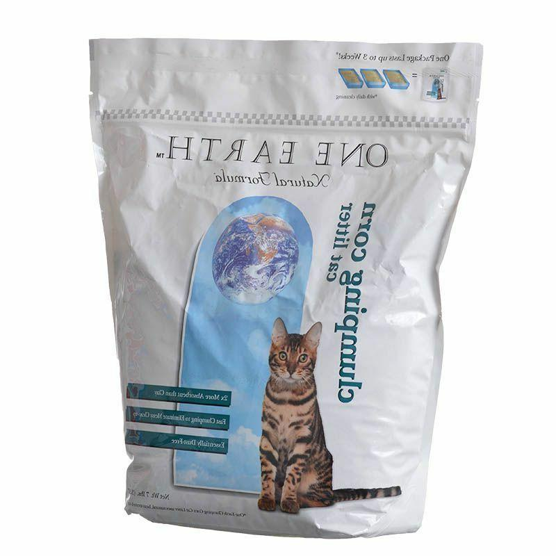one earth natural corn cobb clumping cat