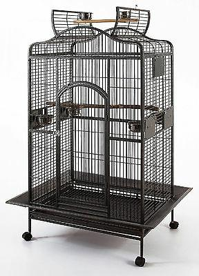 Large Open Play Bird Parrot Cage Cockatiel Macaw Finch 691