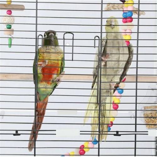 Open Top Transparent Back for Birds w/Toys