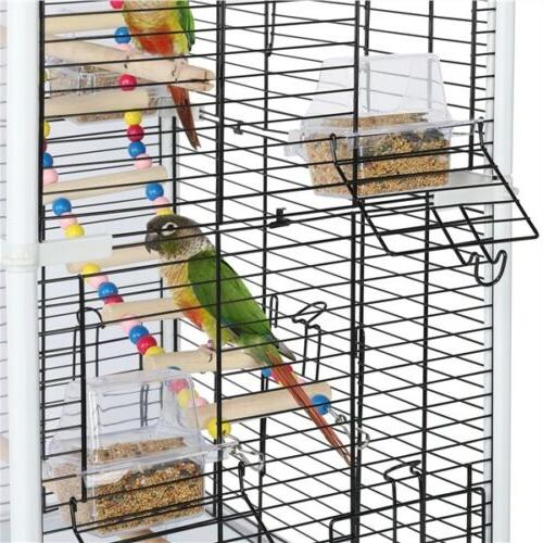 Open Back Birdcage for Small Birds
