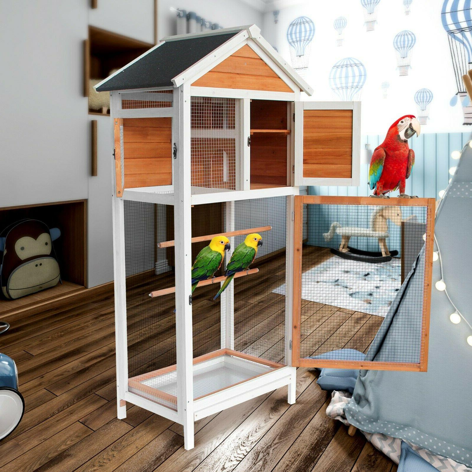 Lovupet Outdoor Cage House Parrot Cages 0012Y