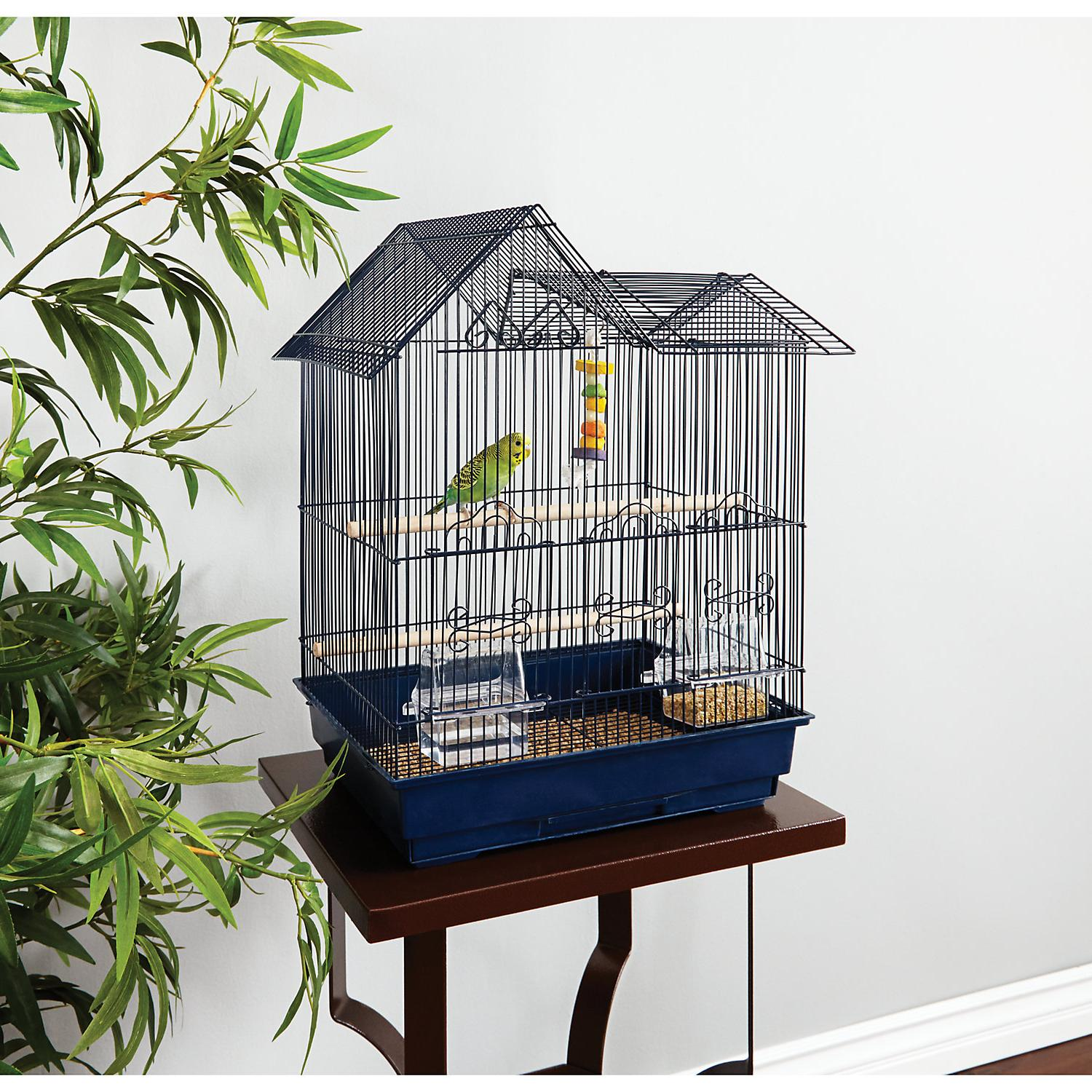 parakeet ranch house cage