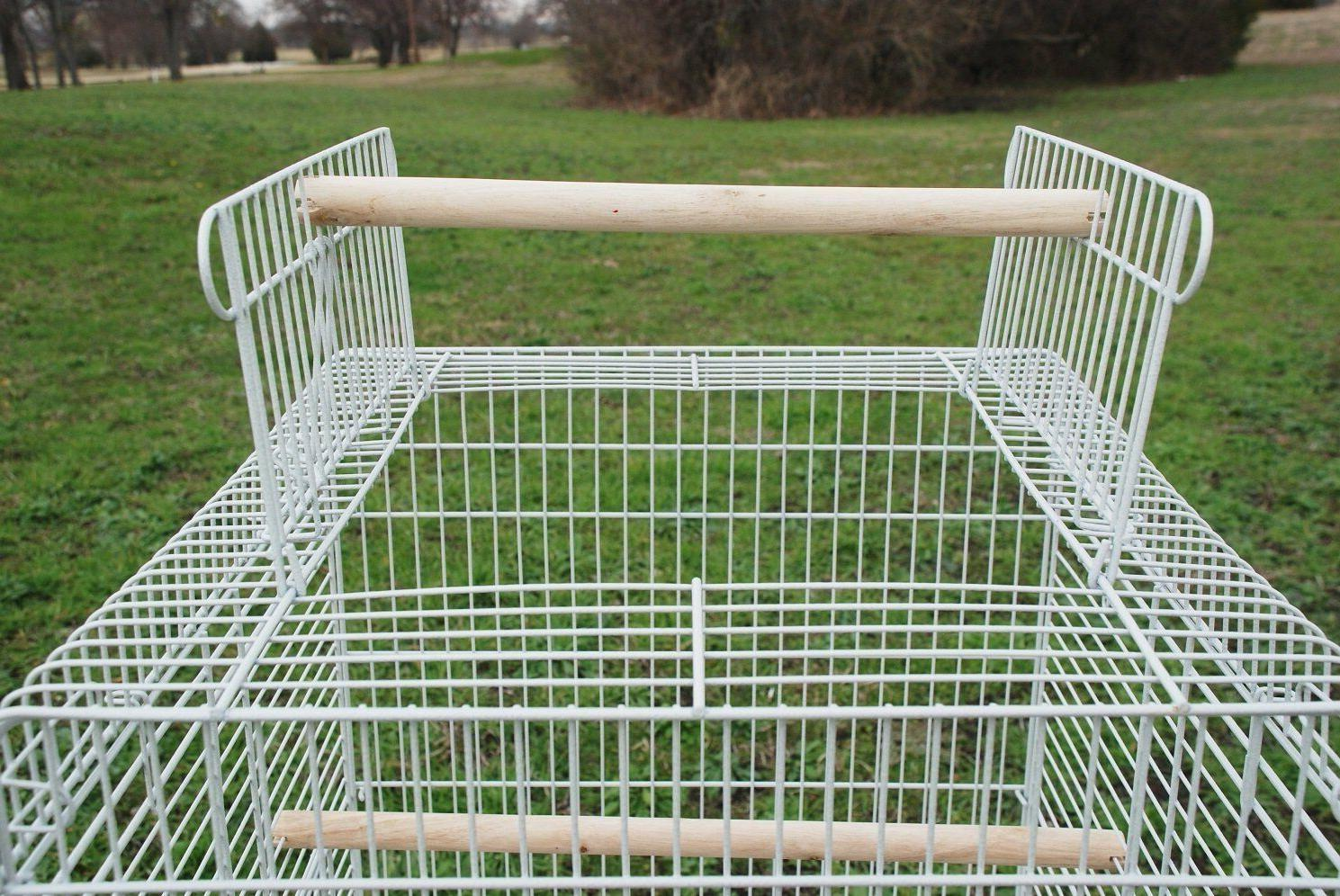 """Large 58-Inch Cage Open Stand Wheel 20x20x57""""H 318"""