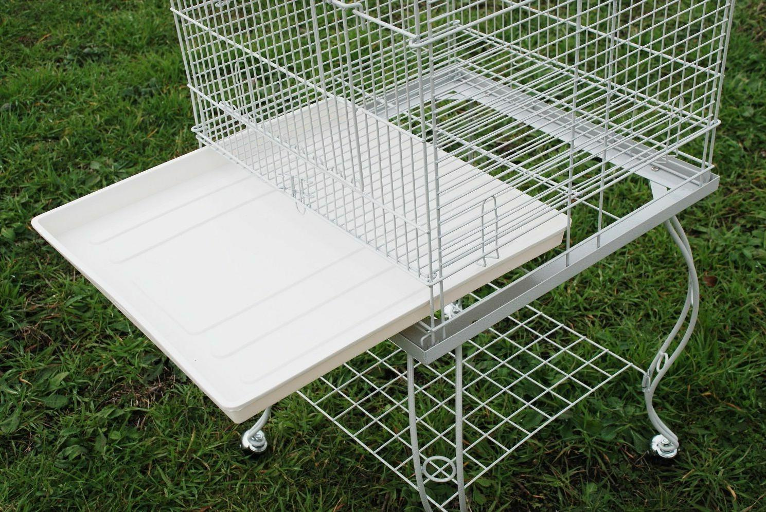 "Large Cage Open Stand Wheel 20x20x57""H 318"