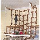 Parrot Birds Pet Rope Net Swing Ladder Chew Toys Parakeet Cl