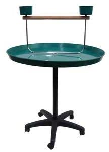 YML 36-Inch Parrot Stand, Green