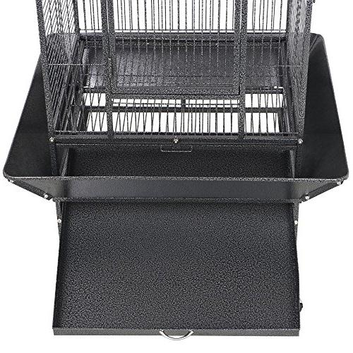 Yaheetech Select Large Bird Cages Parrots Cheeked Cage Stand