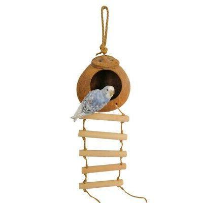 Pet Hanging House Bird Ladder Parrot Perch