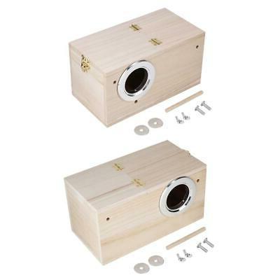 pet bird house breeding nest birds box