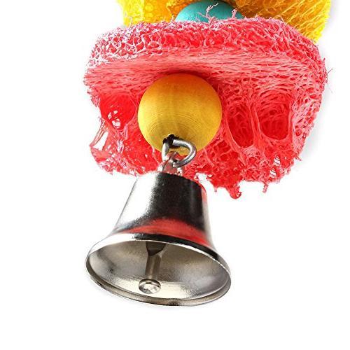 Vktech® Pet Bird Parakeet Hammock Toy