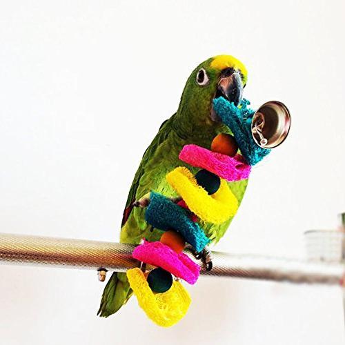Vktech® Bird Parrot Parakeet Hammock Toy Hanging Toy