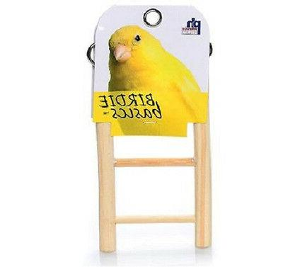 Prevue Pet Products Birdie Basics Wood Ladder 3-Rung