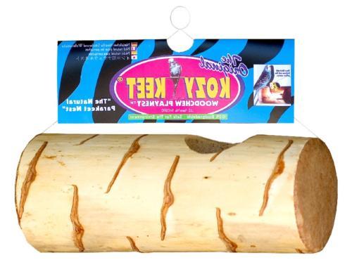 Wesco Pet Kozy Keet Woodchew Playnest Holistic Parakeet Nest