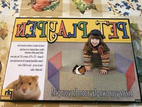Pet Play Pen Folding Puppy Hedgehog Playpen Fence Kennel Cra