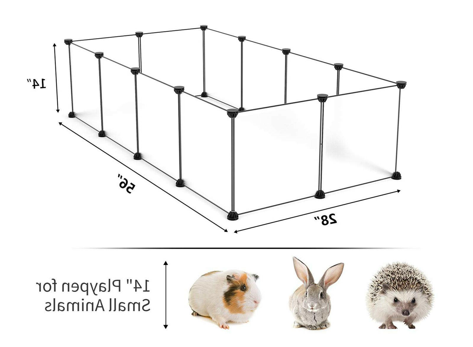 Pet Animal Cage Guinea Pig Puppy Bunny Fence