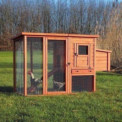 pet products natura chicken coop 173x105x77 cm