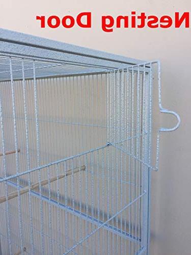 Mcage Large Flight Parakeet Lovebird Stand