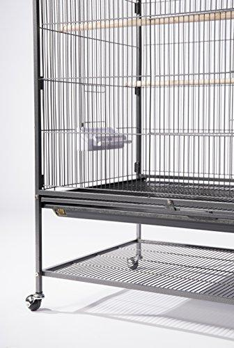 Prevue Hendryx Products Cage, Hammertone Black