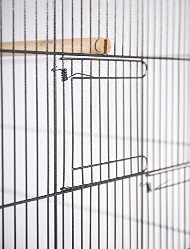 Prevue Hendryx F050 Products Flight Cage, X-Large, Hammertone Black