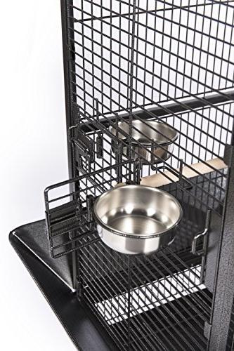 Prevue Pet Products Iron Bird Black Hammertone 3151BLK