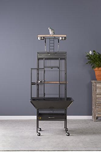 Iron Cage Black Hammertone 3151BLK