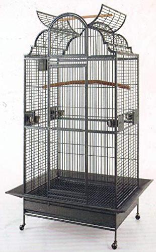 play dome wrought iron bird