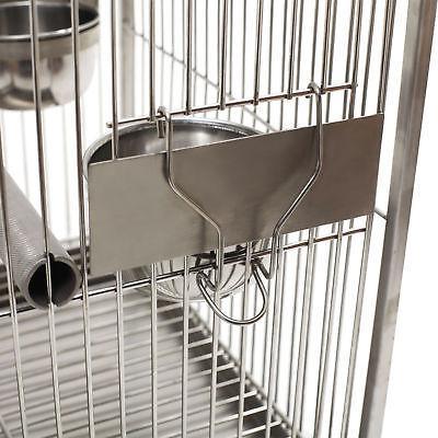 Portable Bird Cages Cockatiel Parrot Cages steel