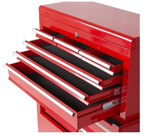 Portable Chest Tool Storage Box Sliding Drawers Premium