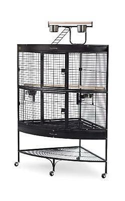 Prevue Hendryx Corner Parrot Signature Series Wrought Iron B