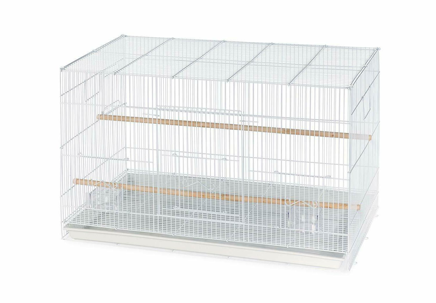 prevue pet products flight cage white