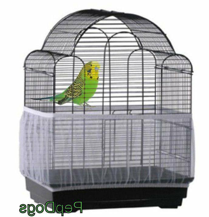 prevue seed catcher seed guard mesh bird