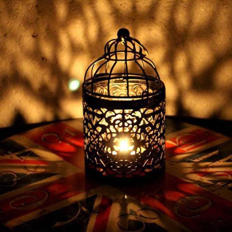 Retro Candle Tealight Hanging Lantern