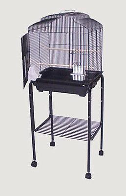 """Rolling Stand For 18"""" x 14"""" or 18"""" x 18"""" Bird Cage  Black-14"""