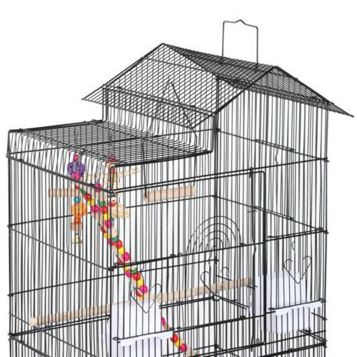 Bird Cage Conure Parakeet w/Toys