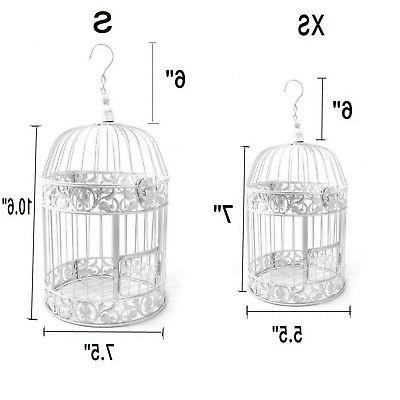 PET Round Metal Wall Cage for Small Wedding...