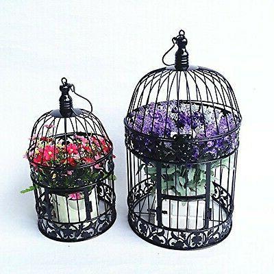 PET SHOW Round Metal Bird Cage Wedding...