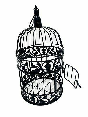 round birdcages metal wall hanging bird cage