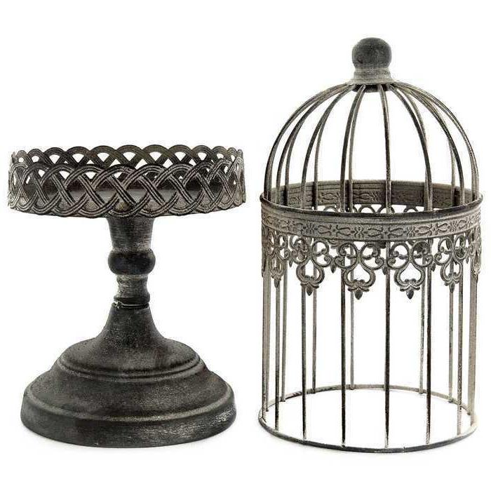 Rustic Ornate Iron on Decor