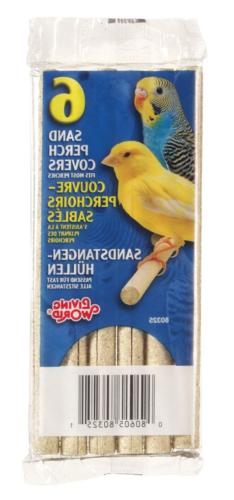 Living World Sanded Perch Refill, 6-Pack