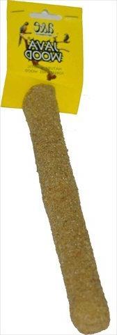Java Wood Sandstone Bird Perch Medium