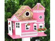 Home Bazaar Sea Cliff Cottage Birdhouse - Yellow - HB-9092YS