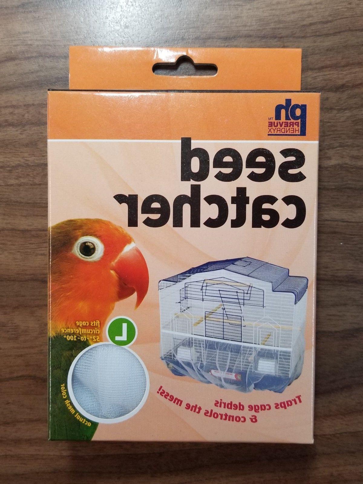 Seed Catcher Mesh Bird Cage S M L