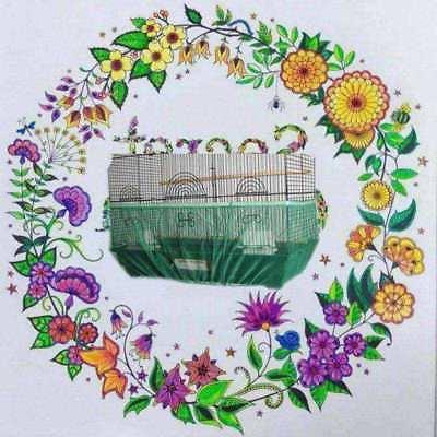 SEED CATCHER Mesh Bird Cage Skirt Basket