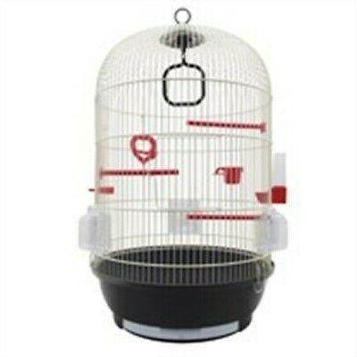 sepia bird cage