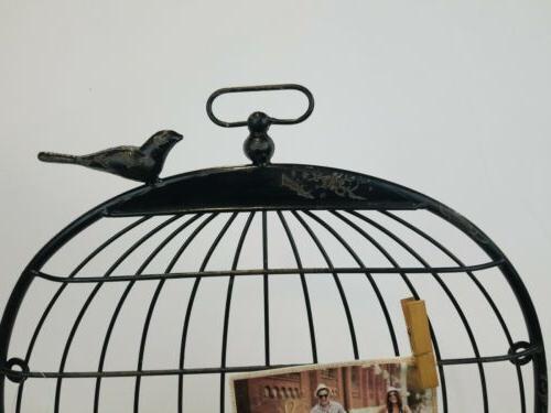 "Sheffield Holder As A Bird Cage 22""W"