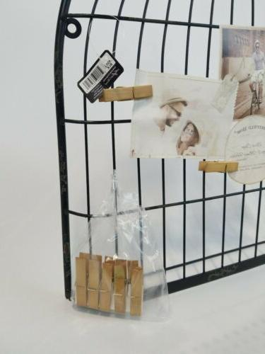 """Sheffield Unique Holder As A Bird Cage 35""""H 22""""W"""