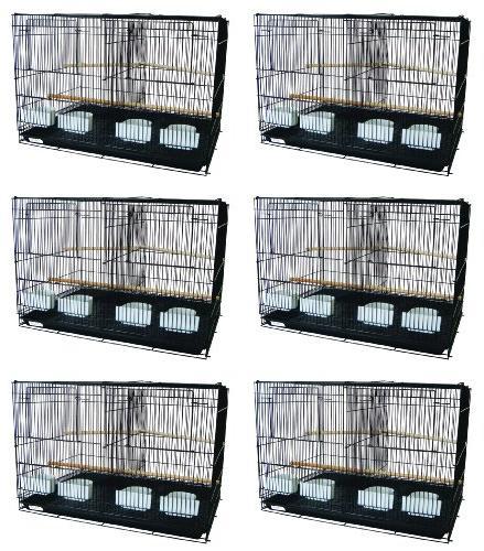 six bird cage