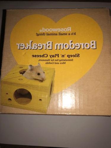 sleep n play cheese hamster and small