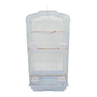 small metal bird cage budgie canary parakeet