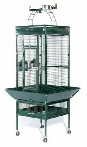 small wrought iron select bird cage chalk